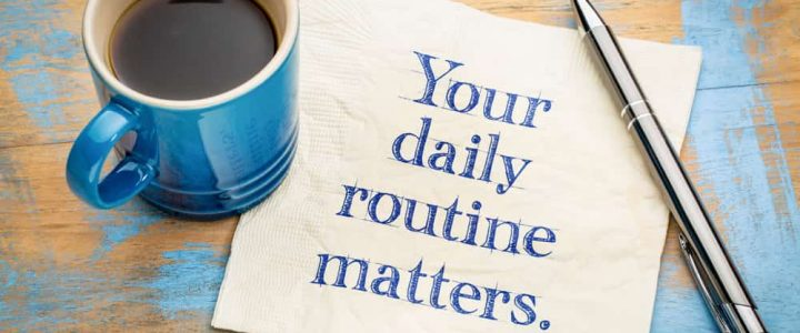 A Daily Routine Could Be Your Answer For a Healthy Lifestyle